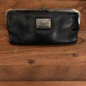 Kenneth Cole Black Large Leather Wallet